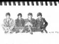 Beatles-Skizze, 1998 von Katharina M. Ratjen